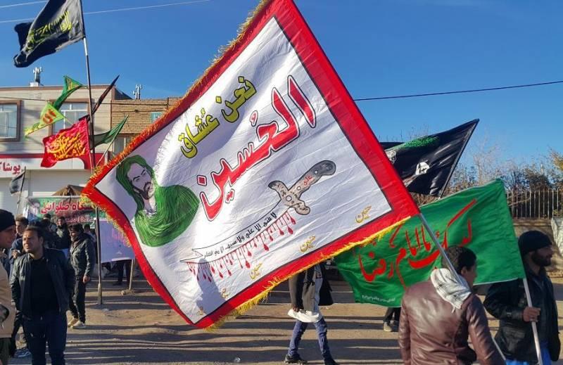 پنج هزار زائر پیاده رضوی در جلگه رخ تربت حیدریه پذیرایی شدند