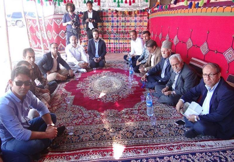 530 کیلومتر راه های عشایری استان بوشهر بازسازی شد