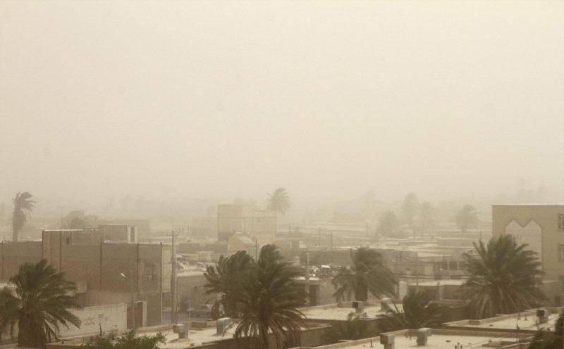 توفان شن با سرعت 119 کیلومتر بر ساعت زابل را در نوردید