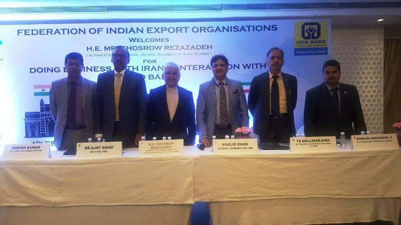 نشست تعاملی صادر کنندگان هند به ایران برگزار شد