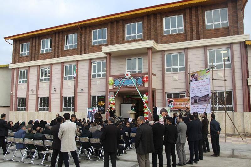 16 طرح نوسازی مدارس در استان گیلان بهره برداری شد