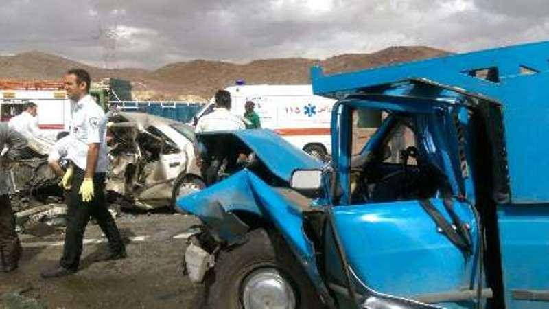 حادثه رانندگی در حومه مشهد 2 کشته داشت