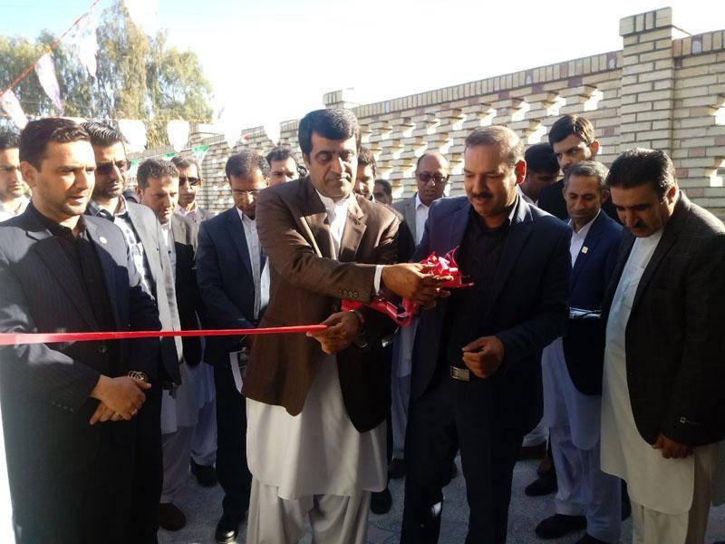 ساختمان تملیکی پزشکی قانونی نیکشهر افتتاح شد