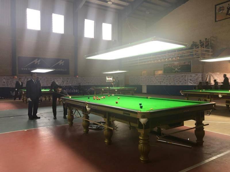 نفرات راه یافته به نیمه نهایی مسابقات اسنوکر کشوری مشخص شدند