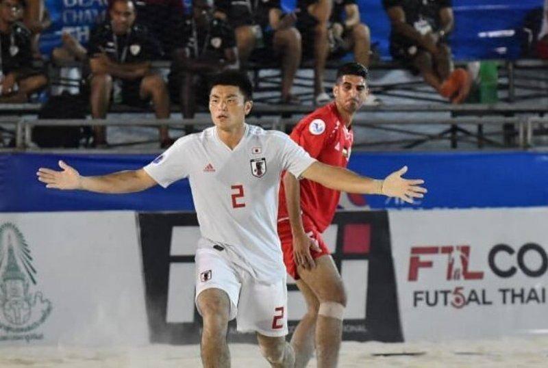 امارات و ژاپن فینالیست های فوتبال ساحلی قهرمانی آسیا