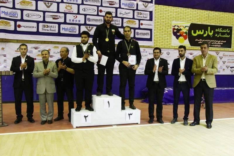 قره گوزلو قهرمان رقابت های اسنوکر کشوری شد