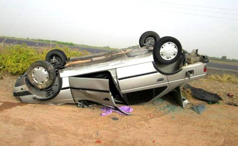 واژگونی پژو در کهنوج سه کشته برجا گذاشت