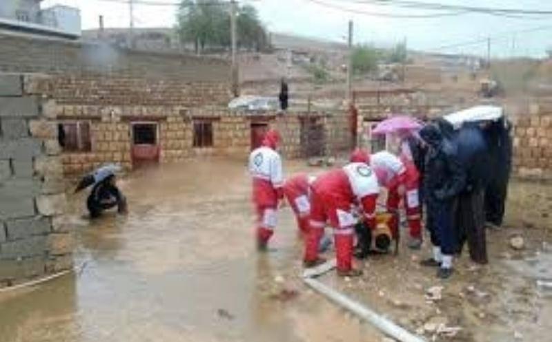 124 نفر از مردم مناطق سیل زده لرستان نجات یافتند