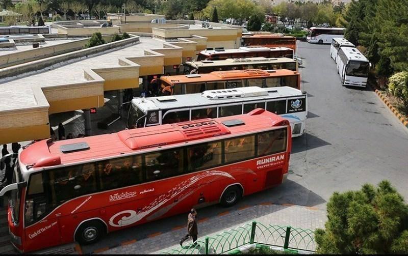 حرکت اتوبوس های مسافربری از قم طبق برنامه انجام شد