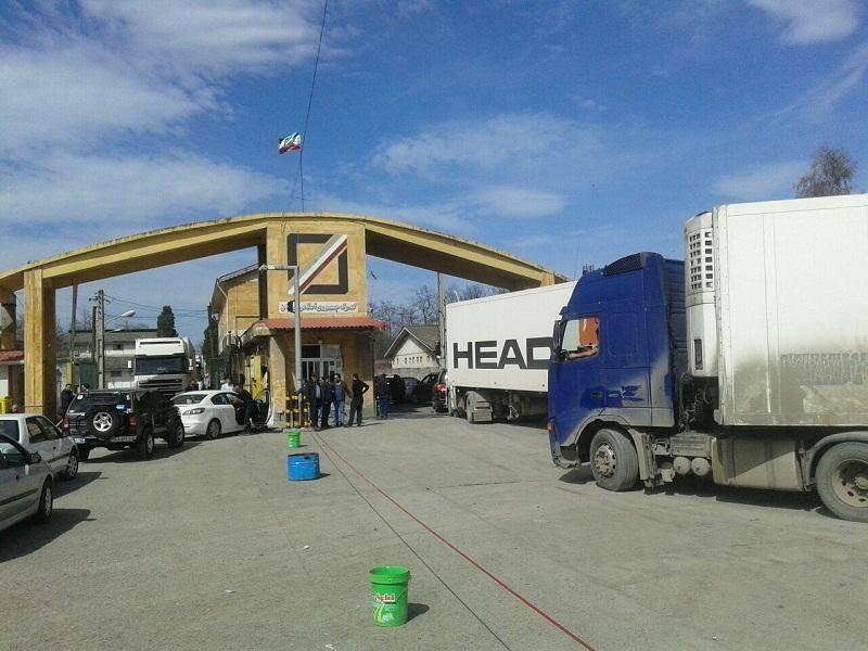 پارسال صادرات کالای غیر نفتی از گمرک آستارا 70 درصد رشد داشت