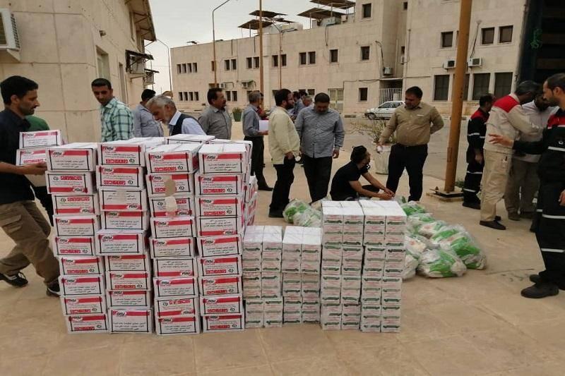 دومین محموله کمک های پتروشیمی به سیل زدگان خوزستان ارسال شد