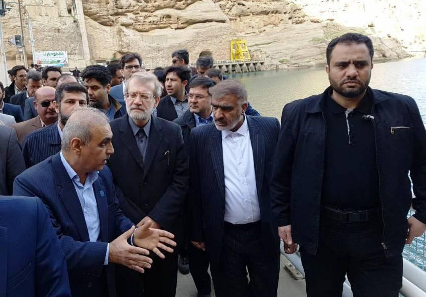 لاریجانی: برای جبران خسارت ناشی از سیل برنامه ریزی شده است