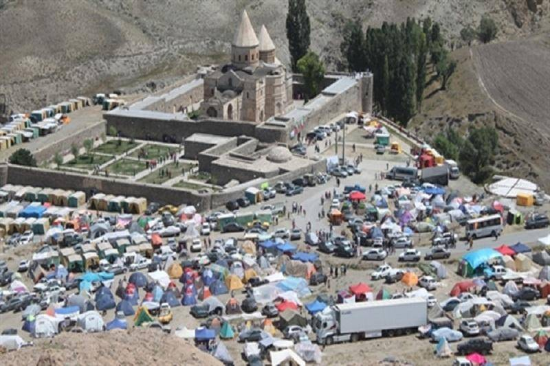 قره کلیسای چالدران میزبان 4700 نفر بازدید کننده بود