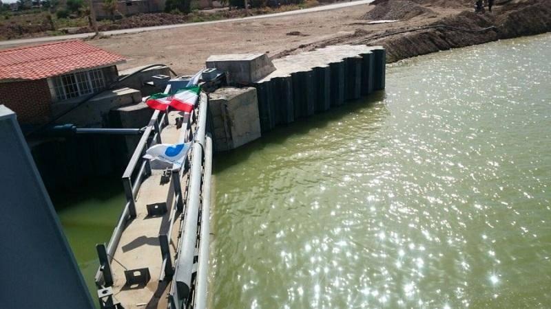 اهالی برخی روستاهای خرمشهر نگران رهاسازی آب از سدسلولی هستند