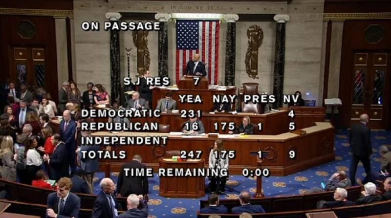 کنگره آمریکا خواستار پایان دادن کمک به سعودی در جنگ یمن شد