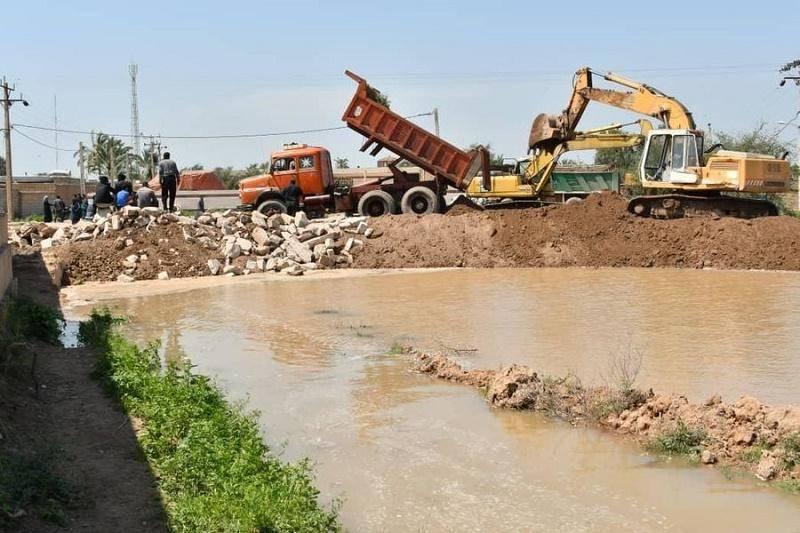 ملی حفاری 100 کیلومتر از سیل بندها را استحکام بخشی می کند