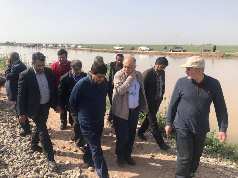 خدمات ستاد اجرایی فرمان حضرت امام (ره) به سیلزدگان خوزستانی