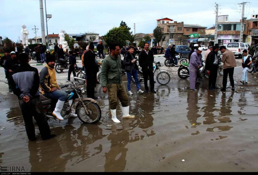 اوضاع استان سیل زده گلستان در پانزدهمین روز فروردین
