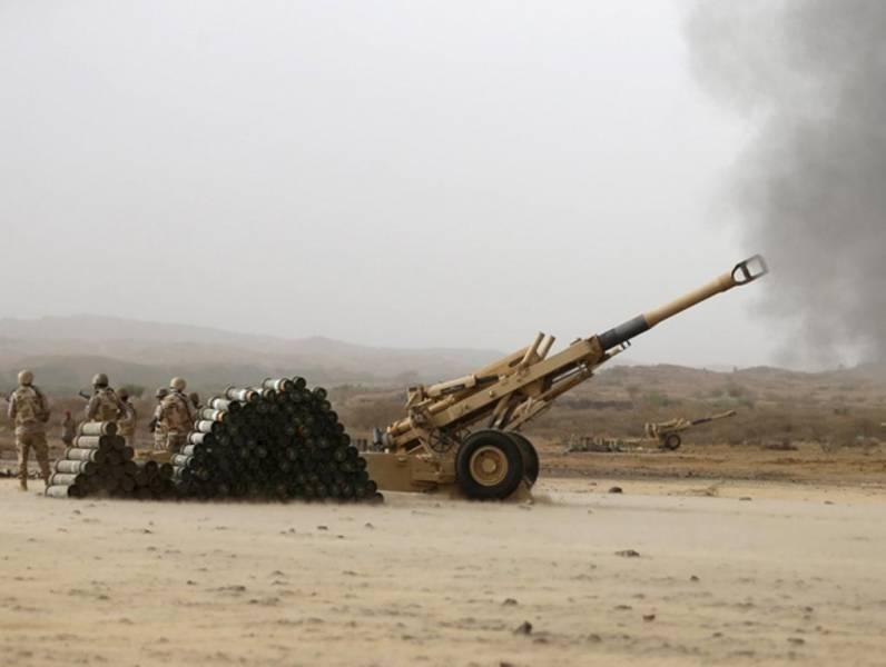 یمن مواضع ارتش عربستان را هدف قرار داد