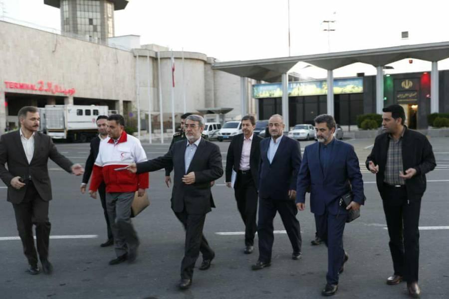 وزیر کشور عازم استان های لرستان و خوزستان شد