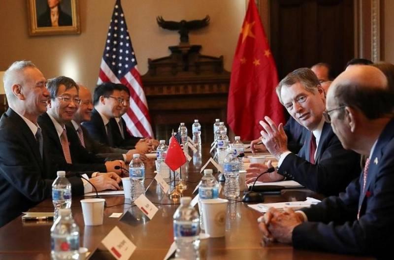 هیات مذاکره کننده تجاری چین آماده اعزام به آمریکا است