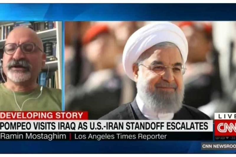 رئیس جمهوری ایران برای کاهش تنش تلاش می کند