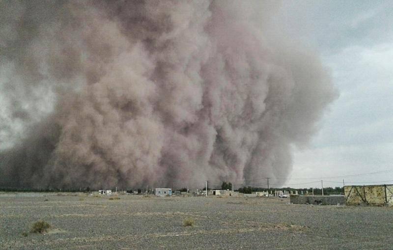 توفان 50  میلیارد ریال زیان  به باغداران ابرکوه وارد کرد
