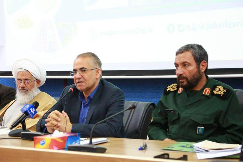 استاندار زنجان: نیاز امروز کشور اتحاد و دوری از تفرقه است