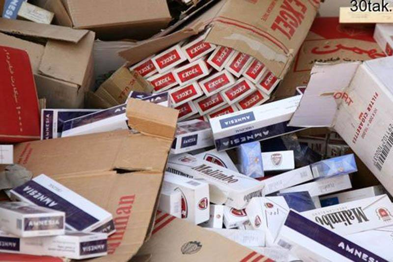 یک میلیون نخ سیگار قاچاق کشف شد