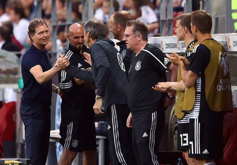 مربی آلمان: بهتر از این نمیتوانستیم مقابل استونی بازی کنیم