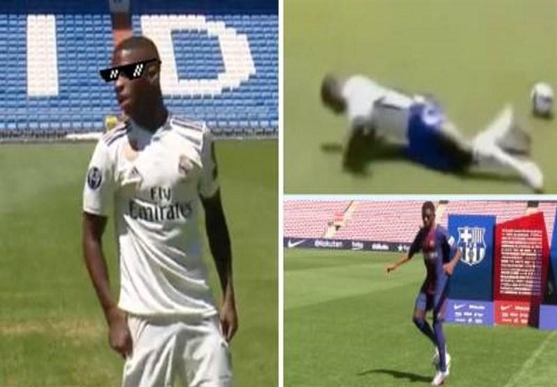 مضحکترین مراسم معارفه بازیکنان فوتبال اروپا؛ خجالت به جای جلب رضایت!