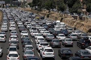 راه های البرز پر ترافیک است