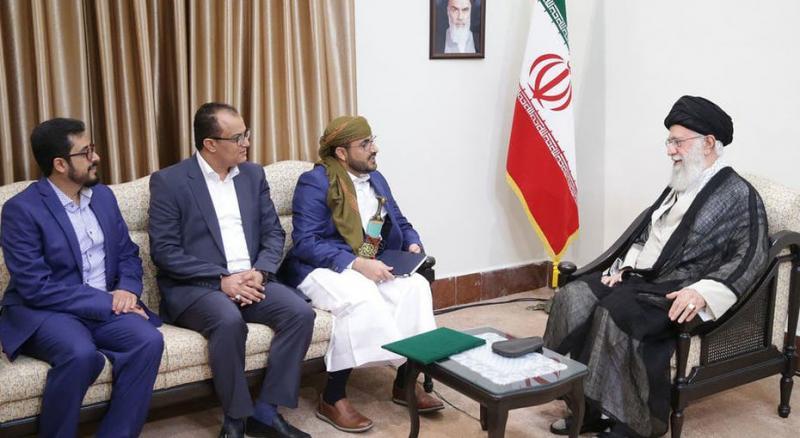 در پی دیدار خامنه ای با سخنگوی گروه انصارالله یمن (حوثی ها) ؛  آمریکا به قربانیان اقدامات این گروه اجازه داد از محل مصادره دارایی های ایران در امریکا، غرامت و خسارات دریافت کنند