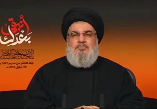 سخنان کوبنده سید حسن نصرالله درباره پایبندی به آرمانهای امام حسین (ع) و رهبر انقلاب + فیلم