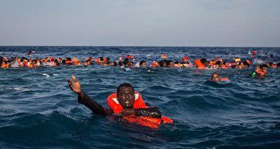 مدیترانه، قتلگاه آوارگان و مهاجران + فیلم