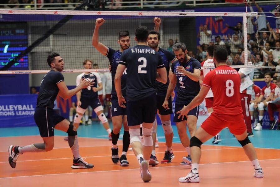 تیم ملی والیبال ایران ۰ - آمریکا ۱ / گزارش لحظه به لحظه ست دوم