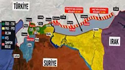مخالفتهای داخلی و خارجی با عملیات نظامی ترکیه در مرز سوریه + فیلم
