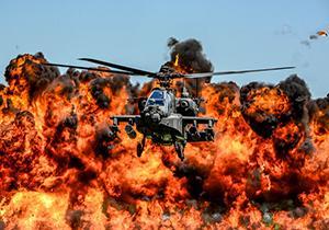 بالگردی که به تنهایی یک رژه نظامی را بهم ریخت + فیلم