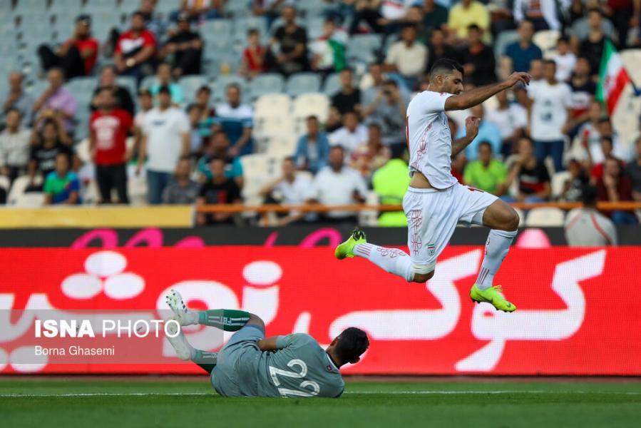 تساوی بدون گل ایران و بحرین در نیمه نخست