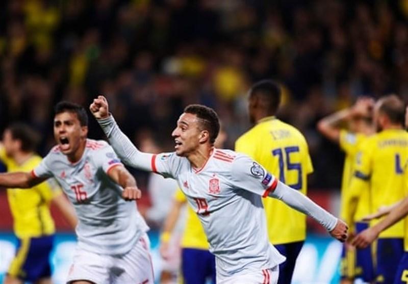 اسپانیا با گلی دیرهنگام صعودش را قطعی کرد/ ایتالیا بازی تشریفاتی را قاطعانه برد